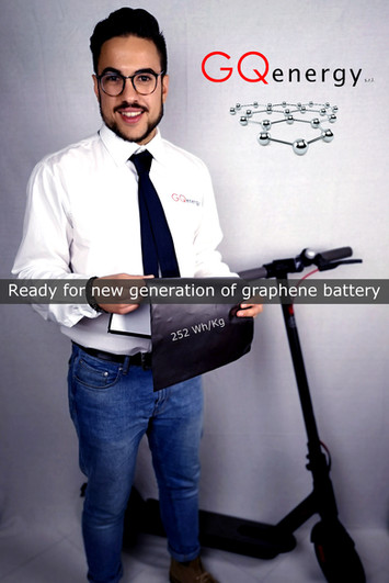 New graphene battery generation