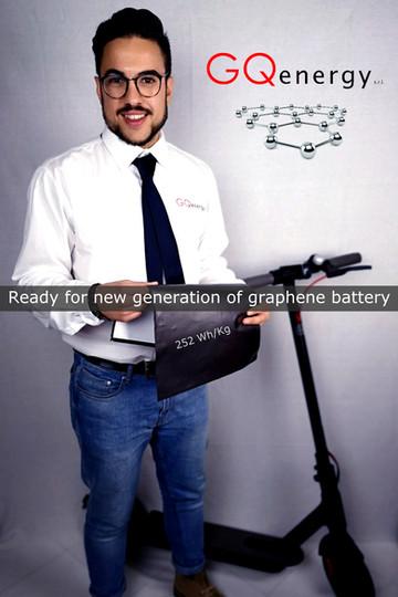 New graphene battery generation