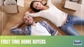 10 First-Time Home Buying Tips