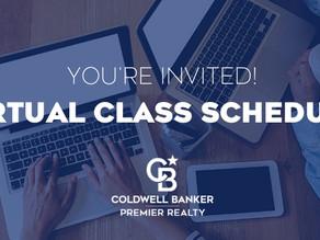 Virtual Class Schedule   April 13-17