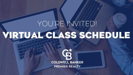 Virtual Class Schedule | April 13-17