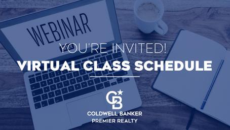 Virtual Class Schedule