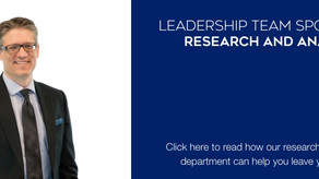 Working With Our Research and Analytics Department to Grow Your Business