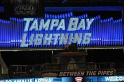 Between the Pipes in Amalie Arena