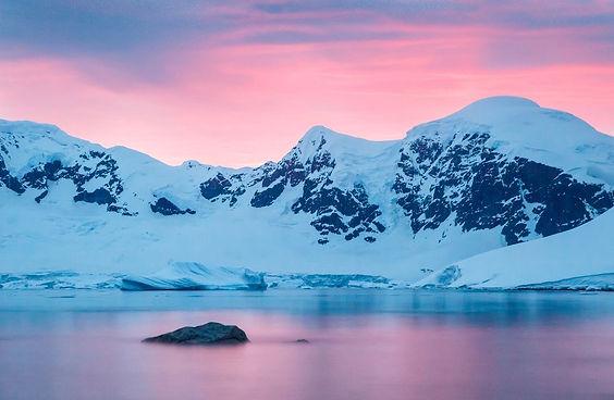 Project 356 Antarctica Ice Challenge at Sunrise