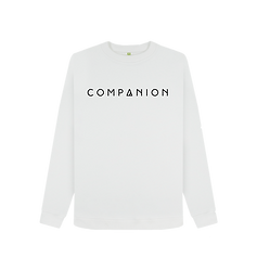 Women's COMPANION Logo Crewneck WHITE