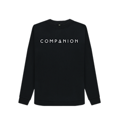 Women's COMPANION Logo Crewneck BLACK