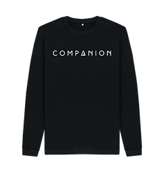 Men's COMPANION Logo Crewneck BLACK