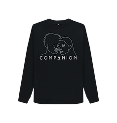 Woman's COMPANION Crewneck BLACK