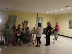 TSAC was happy to host The Charleston Figure Drawing Group tonight at our location! Great turnout!
