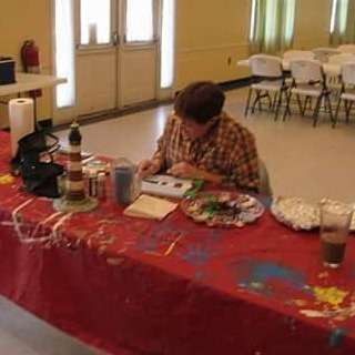 Join us We'd at 10am for Acrylic Painting Class! $25 Students must preregister