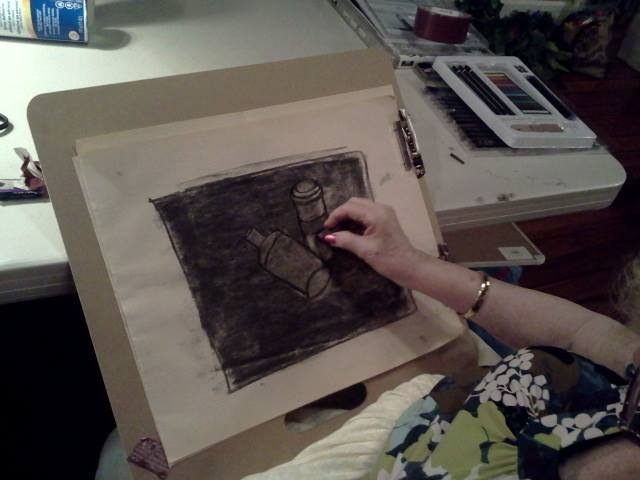 image drawing charcoal