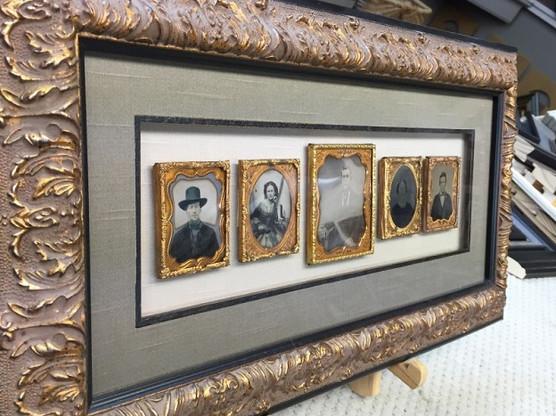 antique photos framed