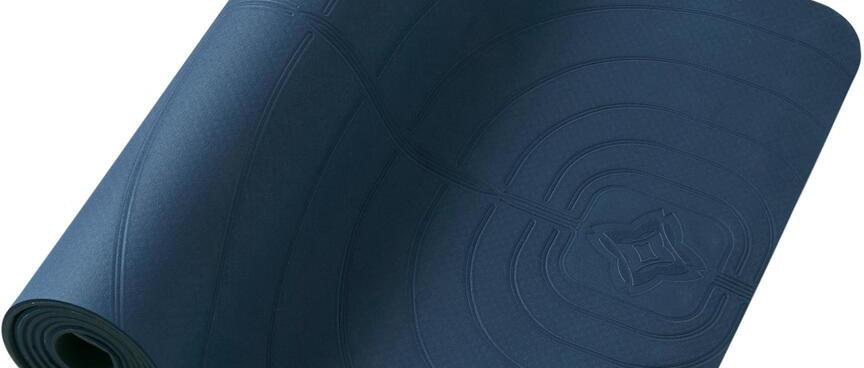 LIGHT GENTLE YOGA MAT CLUB 5 MM - NAVY BLUE 社團用輕盈舒緩瑜珈墊5 MM - 軍藍色