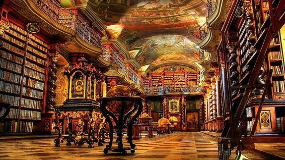 biblioteca klementinum