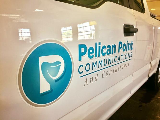 Pelican Point Truck Wrap