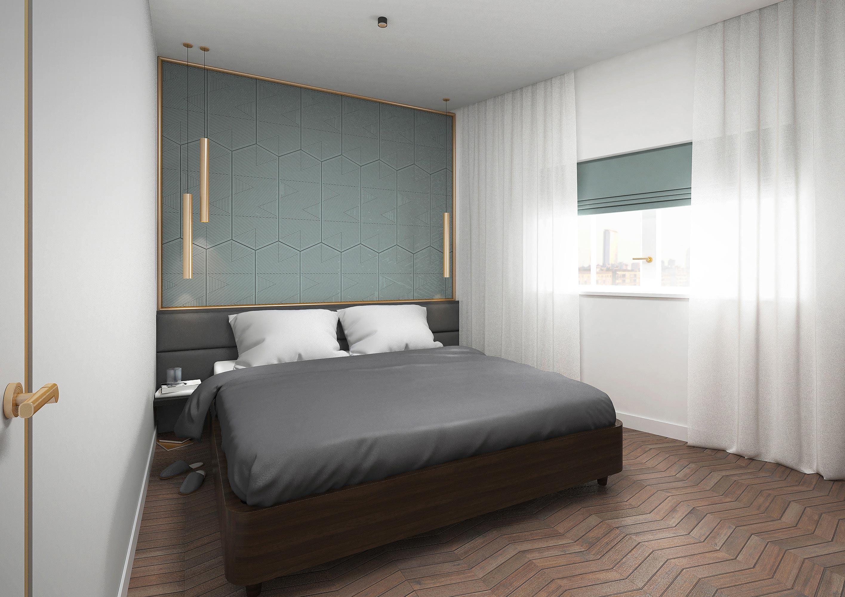 bedroom in Milan