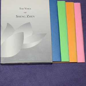 The voice of Sheng Zhen -  4 bøker filosofi om SZ