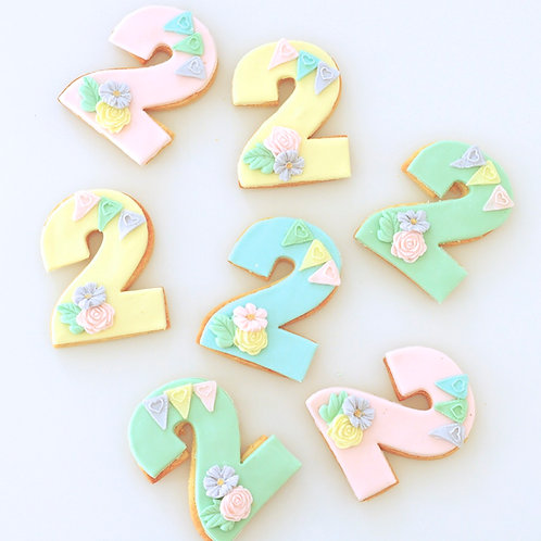 Blooms and Bunting Numbers