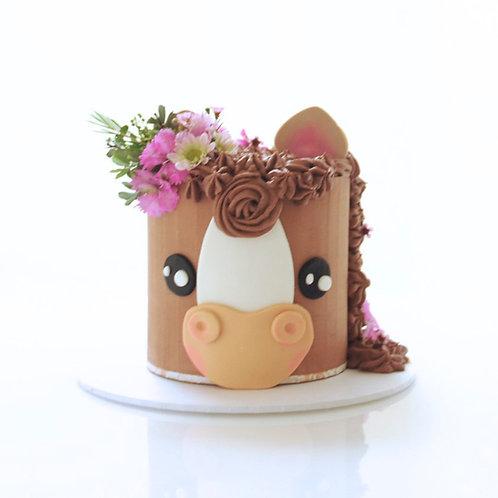 Animal Face Cake