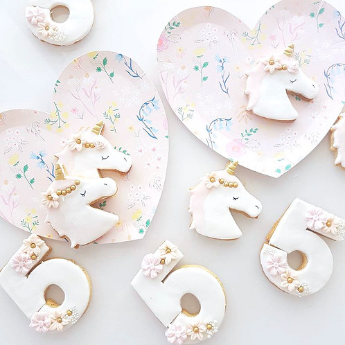 Boho Unicorn Cookie Set (Set of 2)