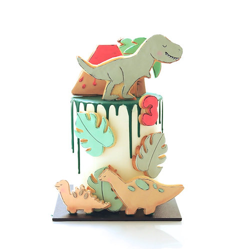 Dino Stomp Cake