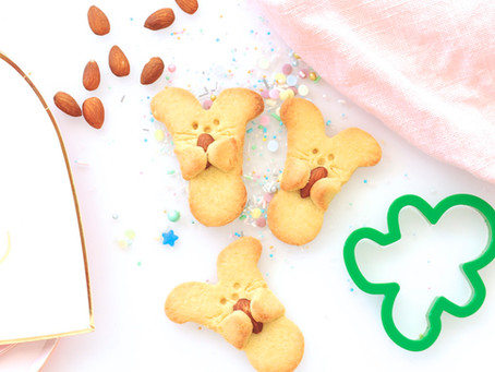 Cuddle Bunny Cookies to bake with your kids!