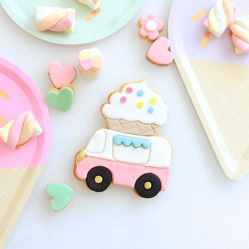 Ice Cream Truck Cookies