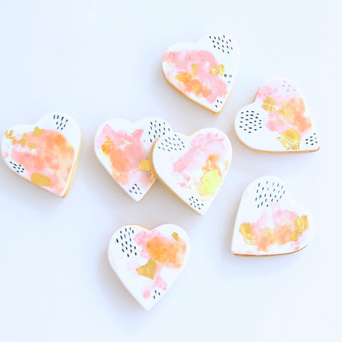 Watercolour Pattern Play Cookies