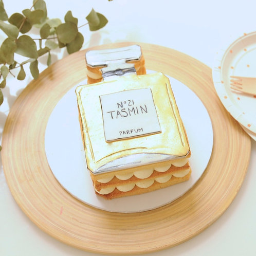 Personalised French Perfume Cookie Stack Cake (Mini)