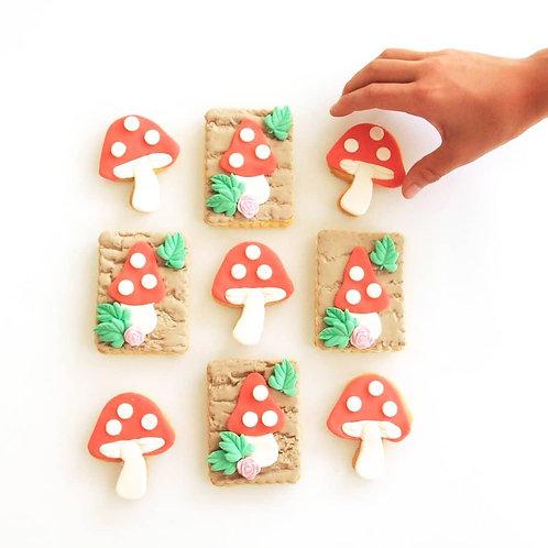 Mushroom Cookies - Set of 2