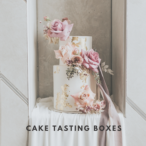 Cake Tasting Box - Collection Saturday 20th February
