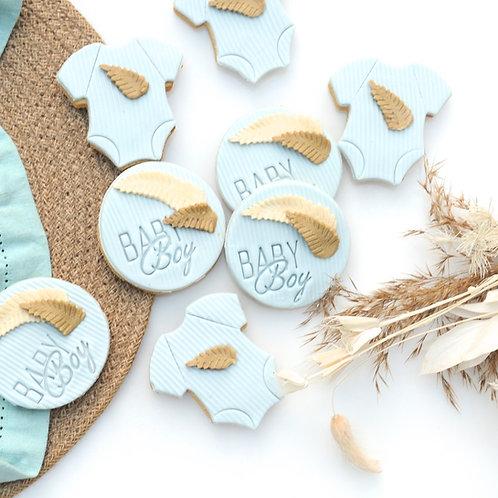 Baby Boy Cookies - Set of 2