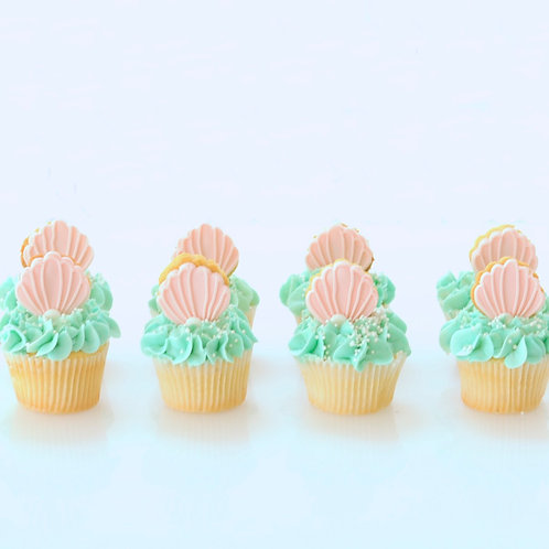 Mermaid Wish Cupcakes x 12