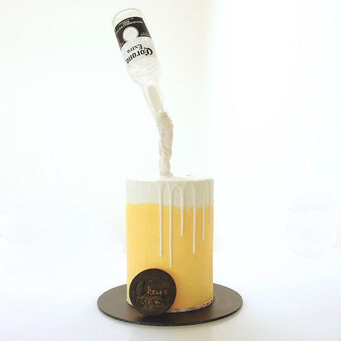 Magic Pour - Beverage Cake