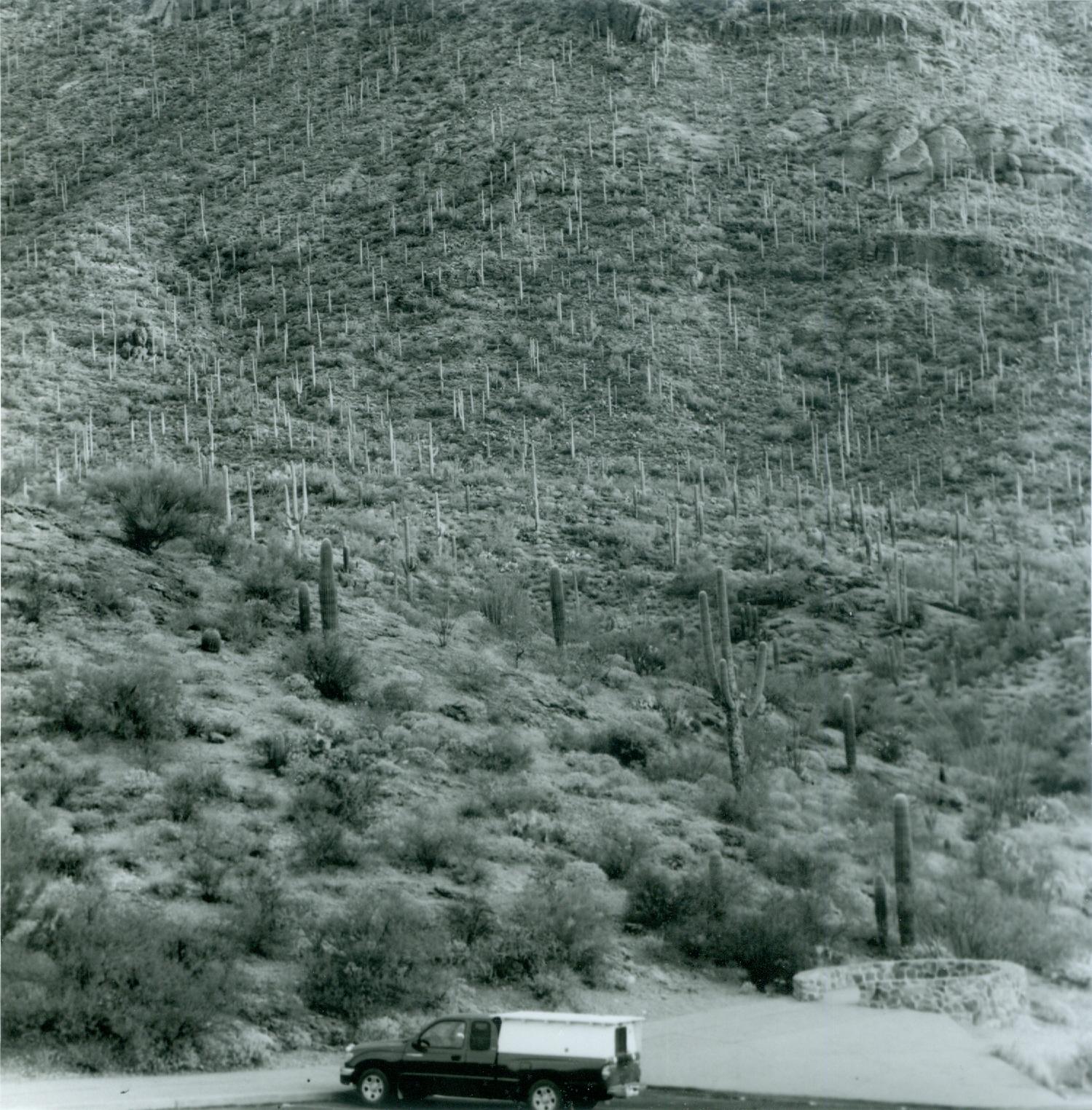 Red Truck, Gates Pass, Arizonak