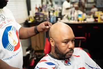 Clean shaves for men.