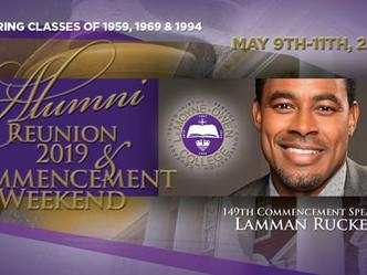 Alumni Reunion Weekend 2019