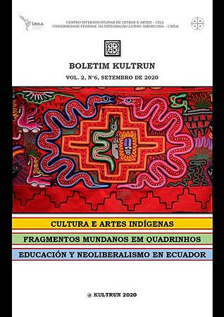 KULTRUN Vol. 2, n° 6, setembro de 2020._