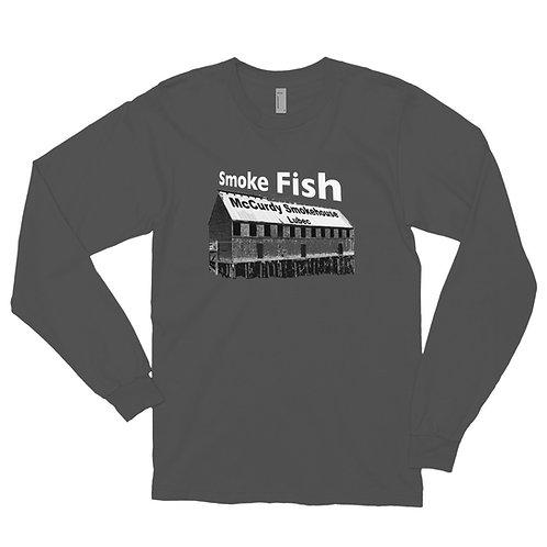 Smoke Fish long sleeve t-shirt