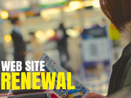 WEB SITE リニューアルオープン!