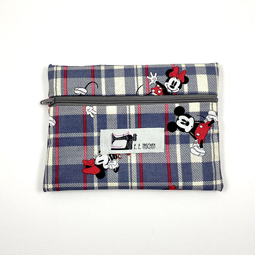 Minnie and Mikey Mouse Plaid (small)