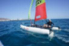hobie cat Playa Blanca windsurf Playa Blanca