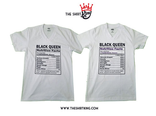 Black Queen Facts (Crew Necks Only/No V-necks)