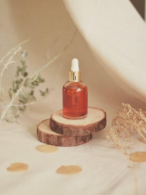 óleo corporal aromaria - segredo das flores rosas