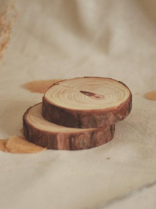 suporte de madeira