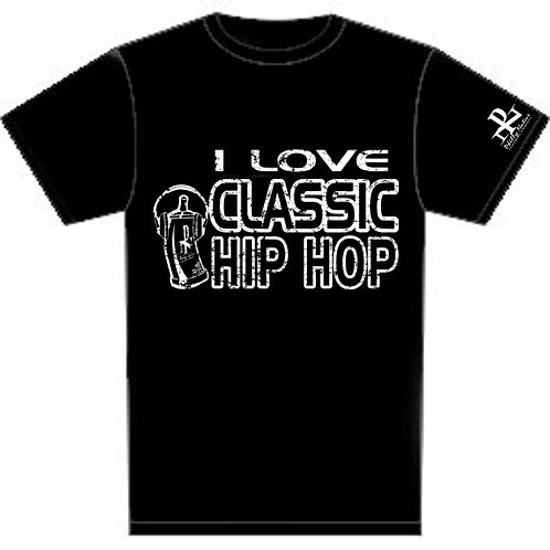 I Luv Classic Hip Hop Personalized Short DJ Tee
