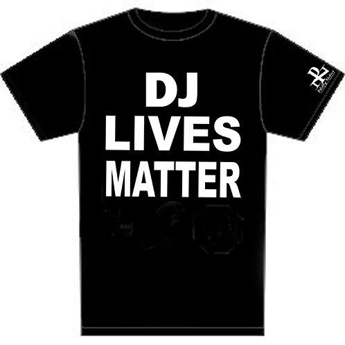 Personalized DJ Lives Matter Custom DJ Tee