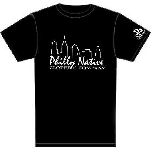 Philly Native Ladies Short Sleeve Skyline Tee
