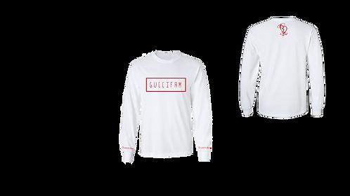 White/Red Simple LongSleeve